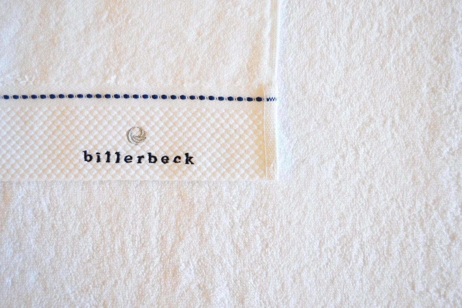 Prosop din bumbac egiptean pieptanat Billerbeck alb 50x100 cm