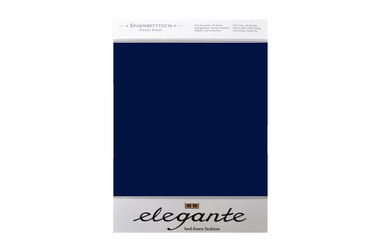 Cearceaf cu elastic Albastru ELEGANTE