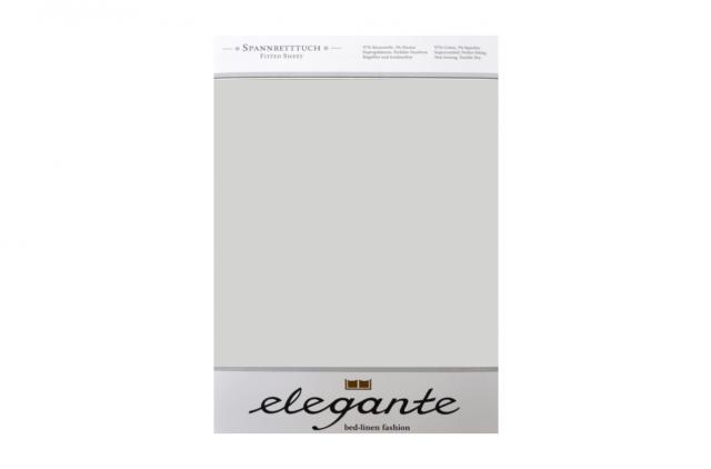 Cearceaf cu elastic Argint ELEGANTE