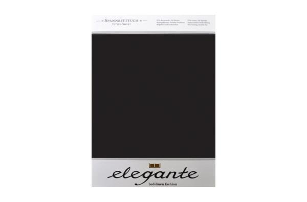 Cearceaf cu elastic Negru ELEGANTE