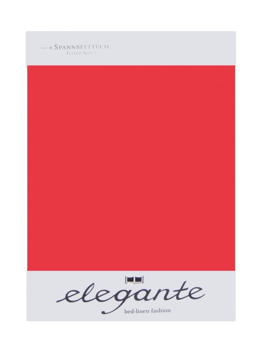 Cearceaf cu elastic Rosu ELEGANTE