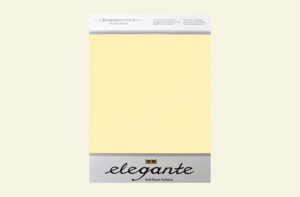 Cearceaf cu elastic Vanilie ELEGANTE