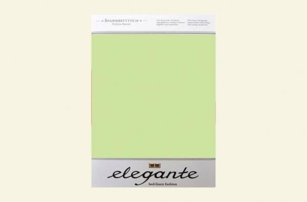 Cearceaf cu elastic Verde ELEGANTE
