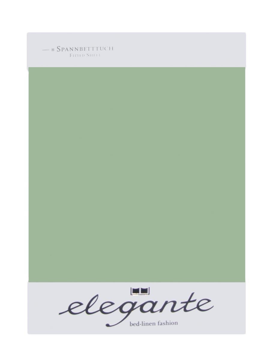 Cearceaf cu elastic Verde Oliv ELEGANTE